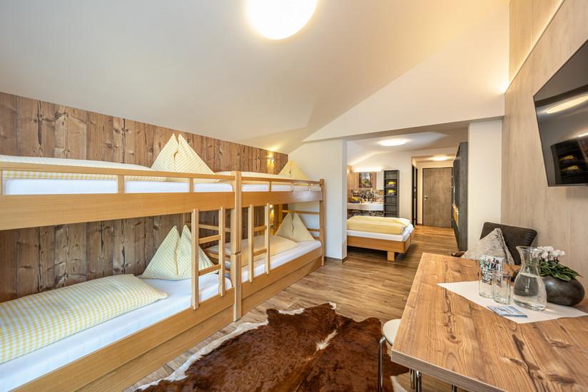 6 Bettzimmer Comfort (ca. 36 m²)
