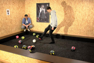 Indoor Fußball Billiard