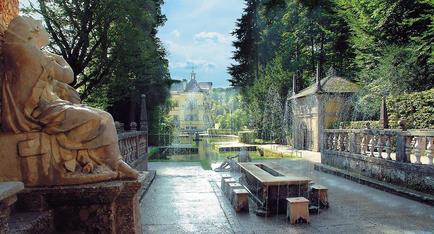 Hellbrunner Wasserspiele in Salzburg