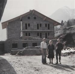 1980 Entstehung der Jugendherberge Weitenmoos