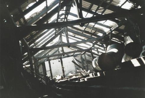 1999 Großbrand der Landwirtschaft