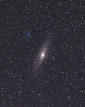 Andromeda in the Winter