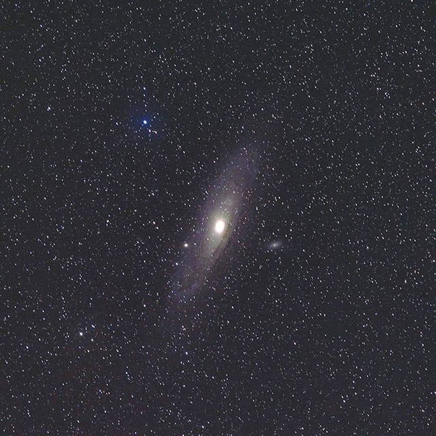 My first attempt at Andromeda this winte
