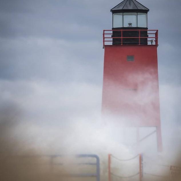 My favorite shot from our super windy da
