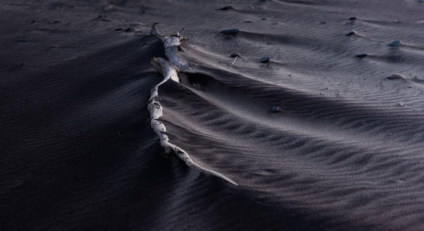Black Sands of Whitefish