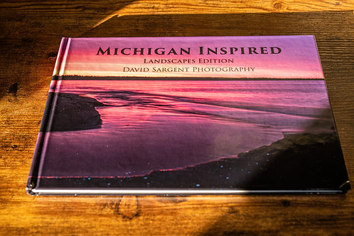 MISPRINTED STOCK - Michigan Inspired - Landscape Photography Book