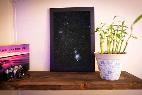 """12x18 Loose Print: """"Orion in the Night"""""""