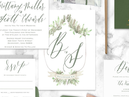 4 crazy meaningful ways watercolor crests can add ultimate flair to your wedding invitations