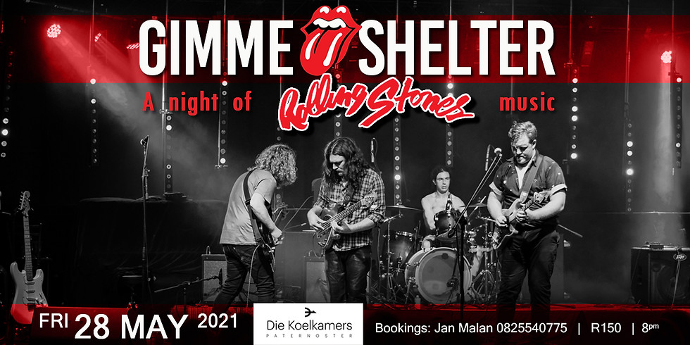 GIMME shelter A night of ROLLING STONES music