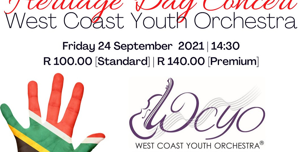 Heritage Day Concert - West Coast Youth Orchestra