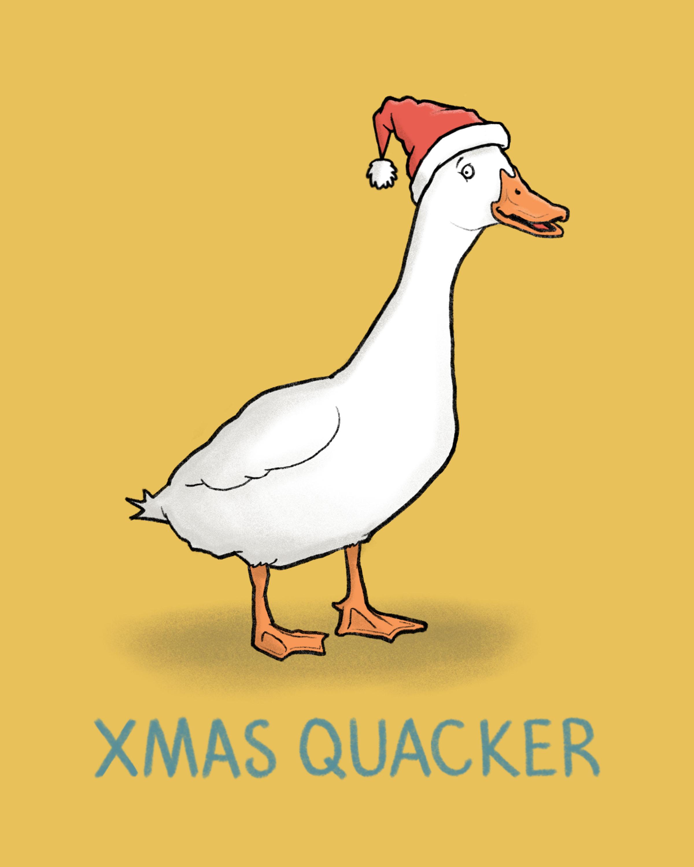 Xmas Quacker
