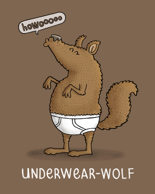 Underwear Wolf