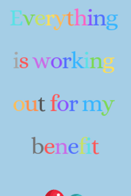 For you benefit