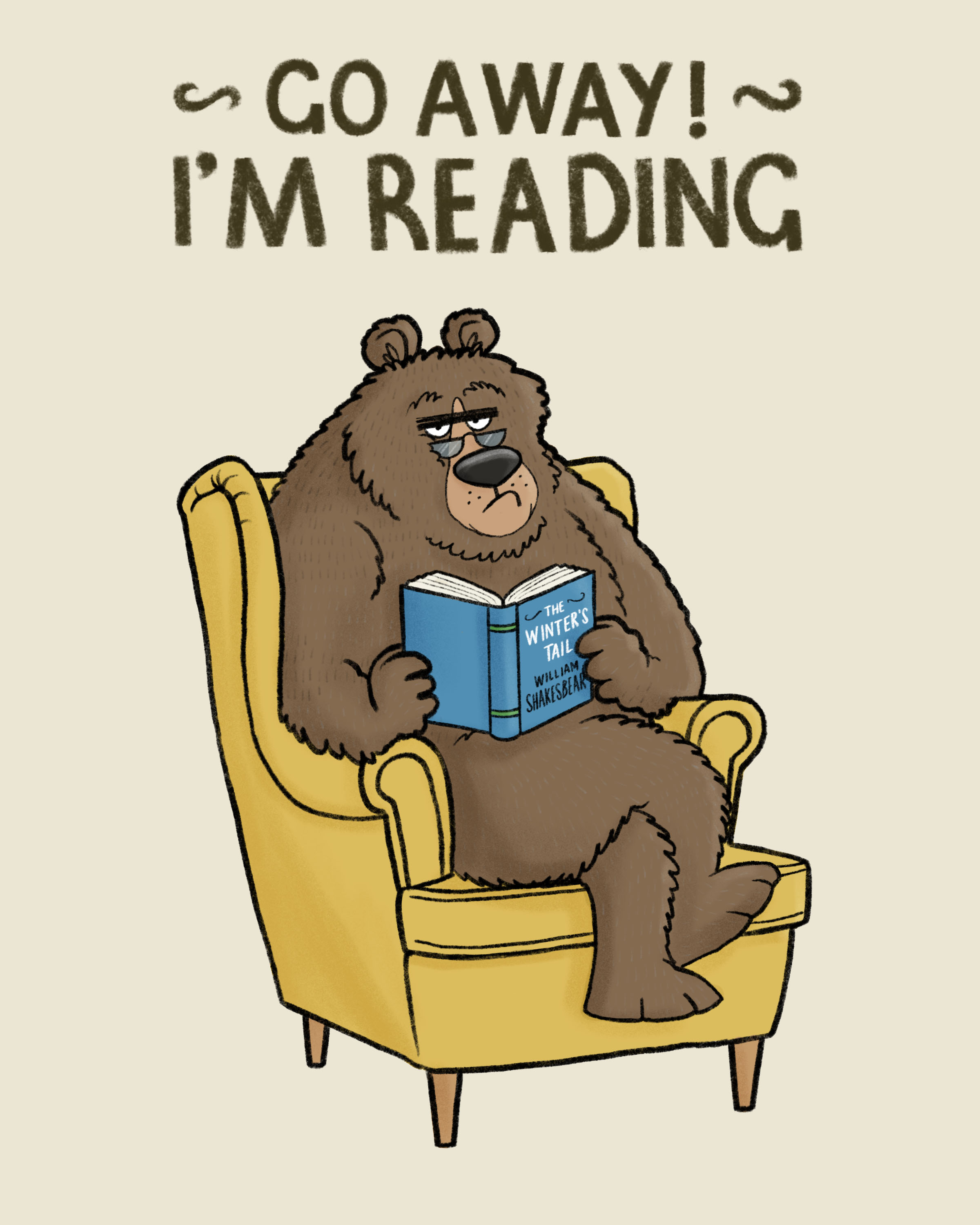 Go Away! I'm Reading