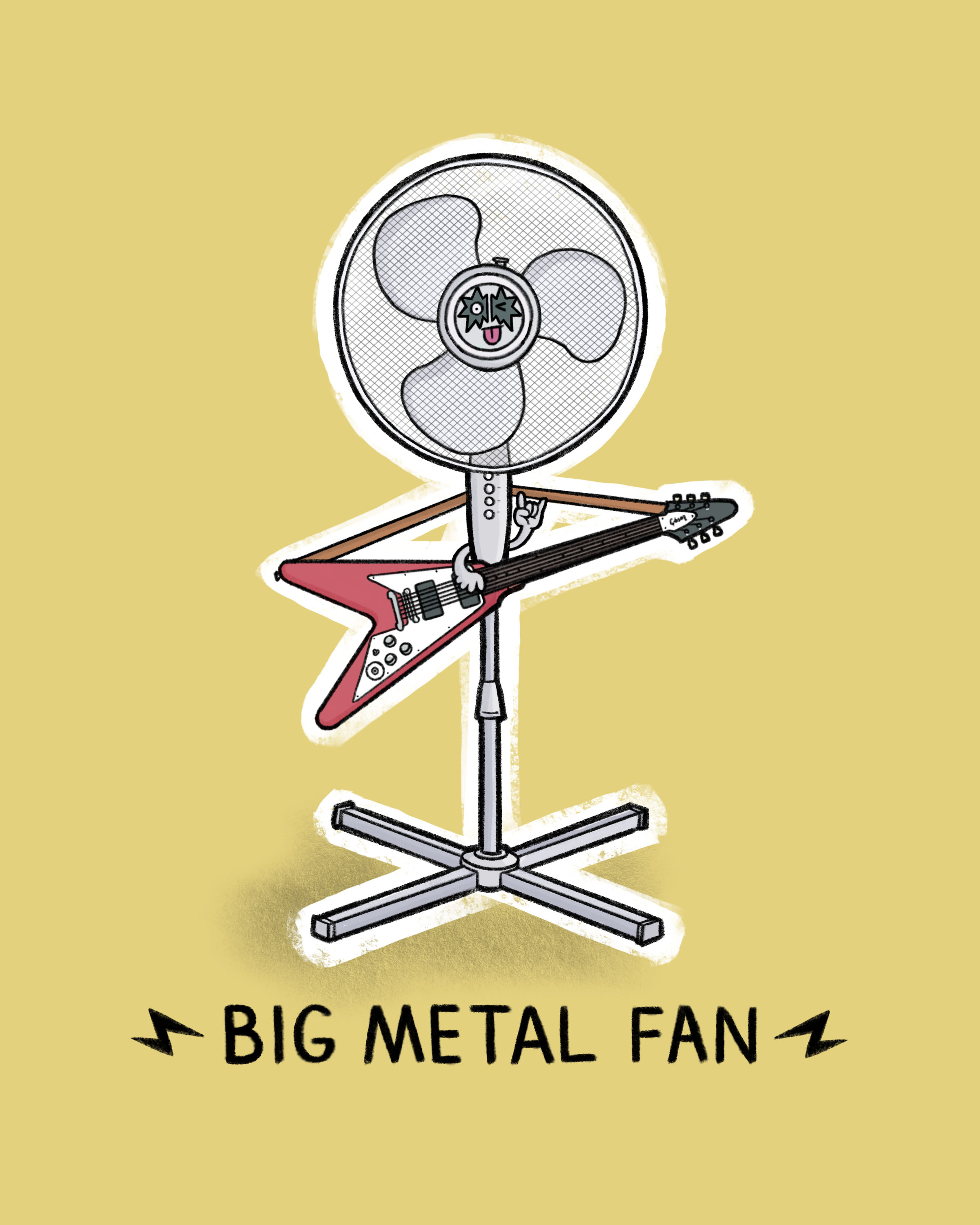 Big Metal Fan