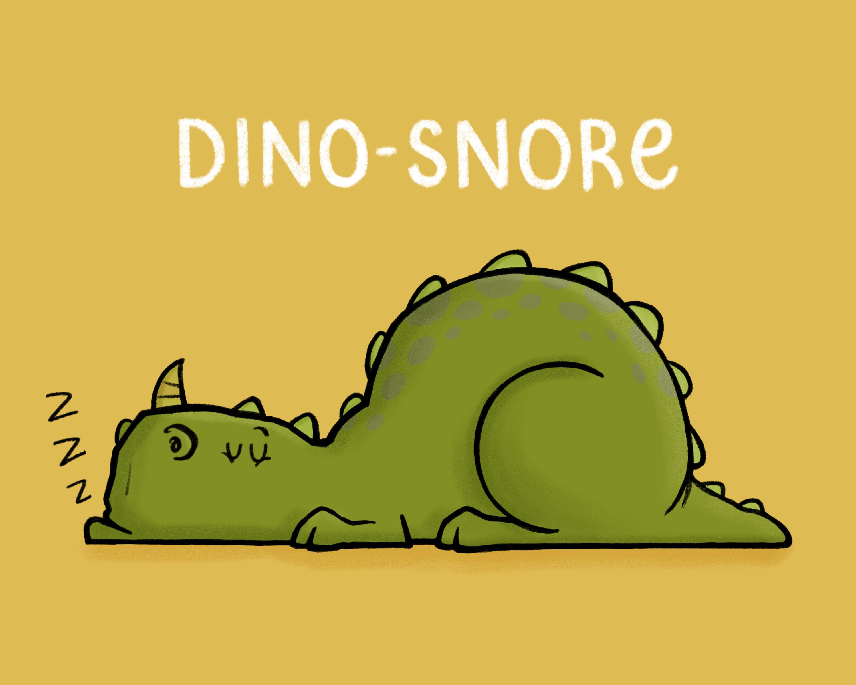 Dino-snore