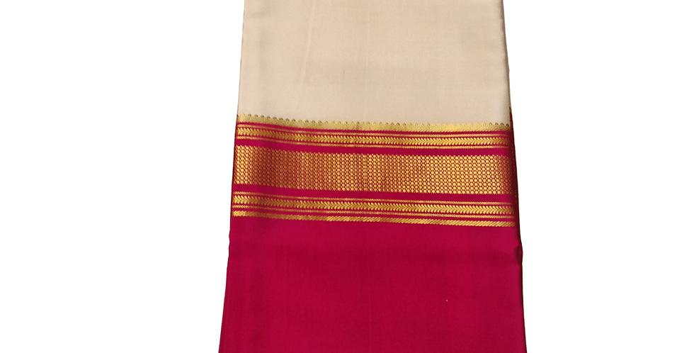3D Mysore Silk Crepe