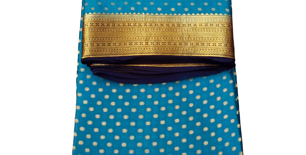 Pure Mysore Silk Saree (Exclusive - Crepe)