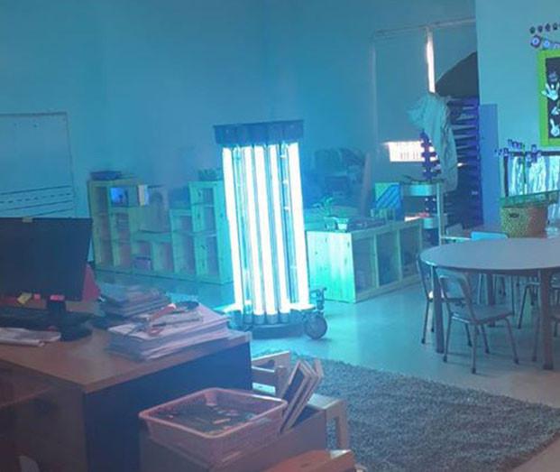 Luz ultravioleta UVC