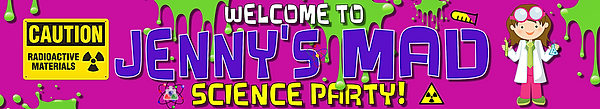 Science style banner