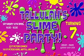 Slime style invite