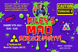 Science style invites