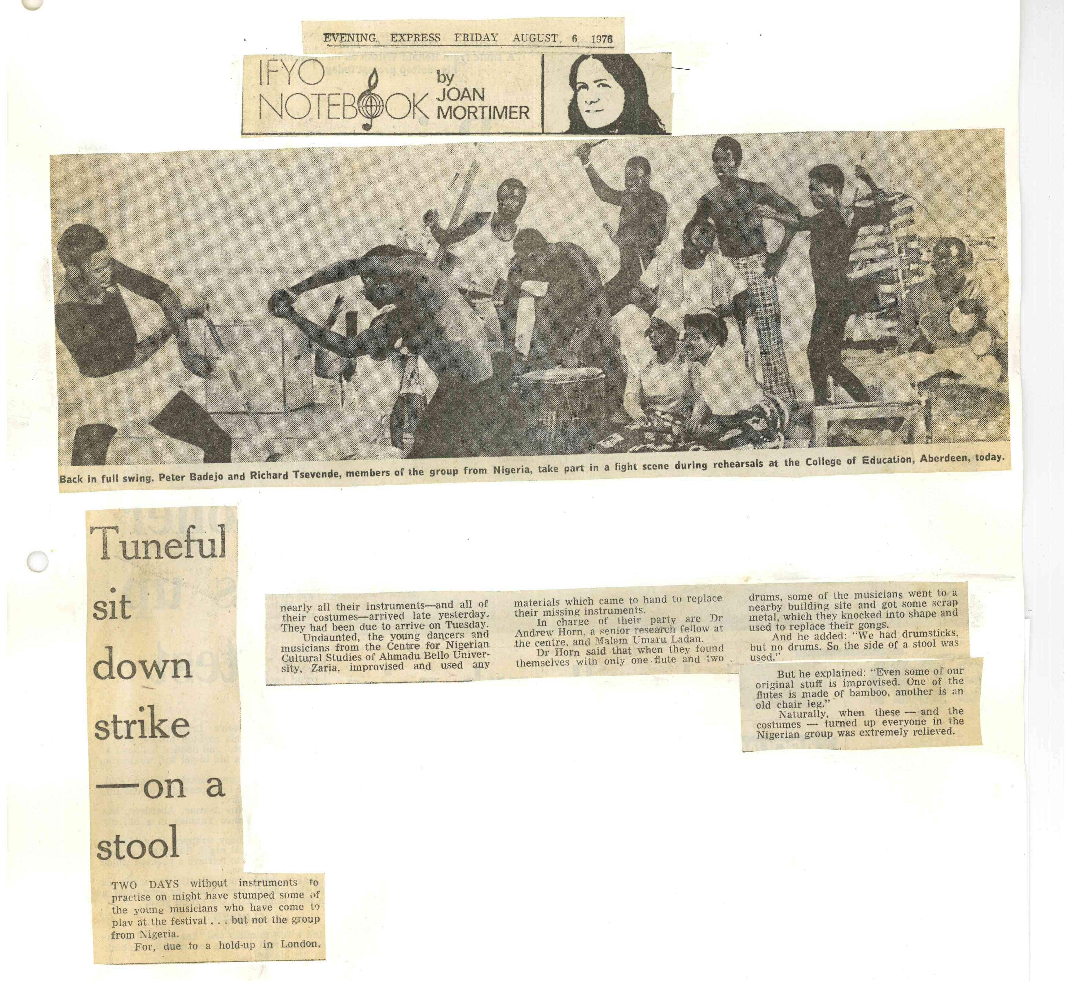 00046-Evening Express- Nigerian group, 6th August 1976.jpg