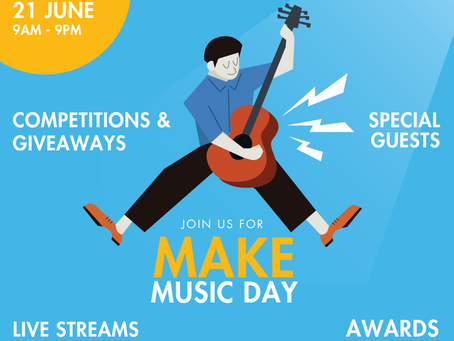 Celebrate Make Music Day With Us This June