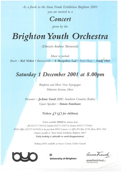 BYO Brighton and Hove New Synagogue, 1st December 2001.jpg