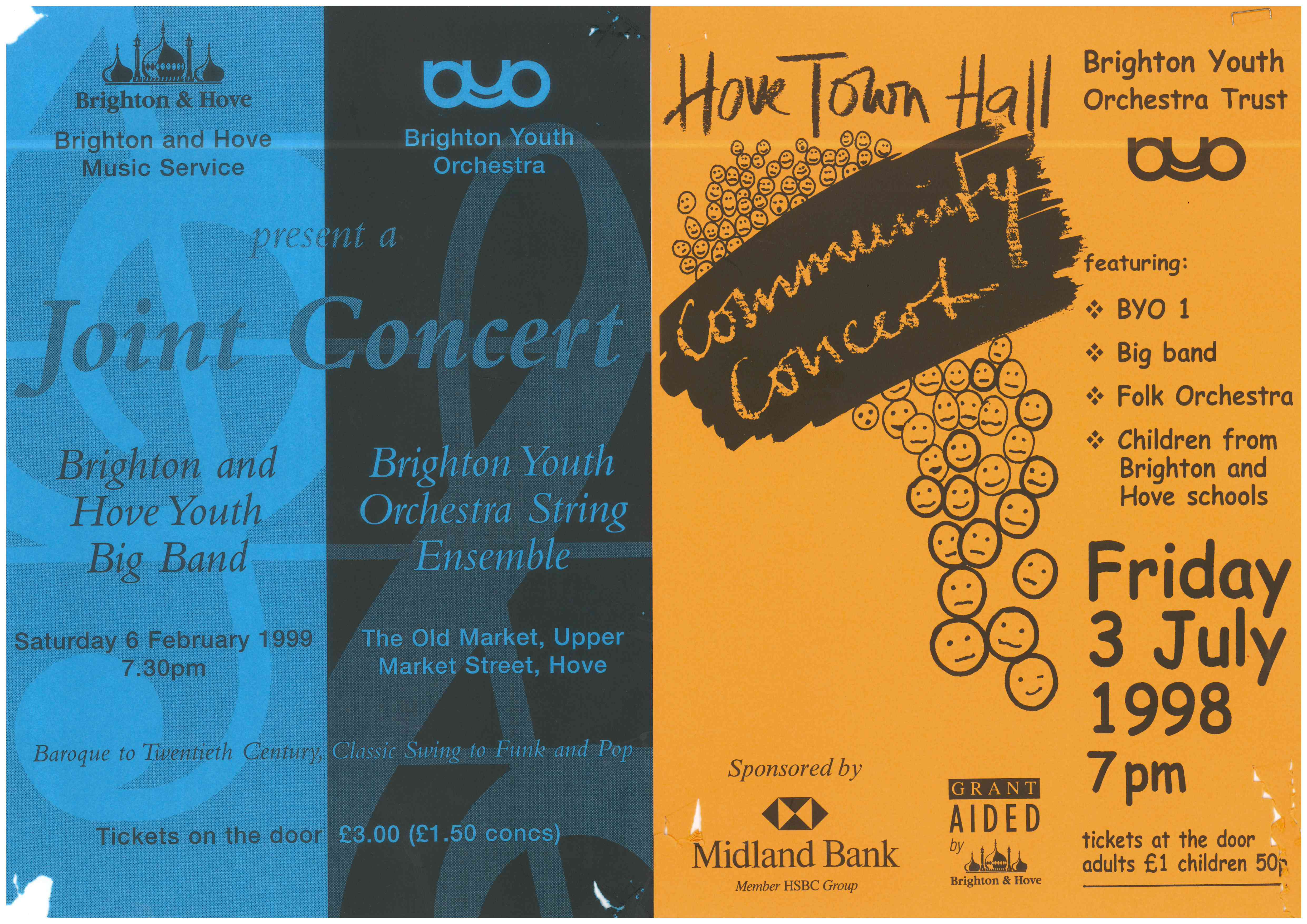 BYO Posters 1998 & 1999