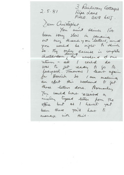 00128-Letter; David Grey to Christopher, 2nd May 1981.jpg