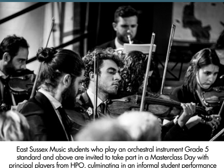 Free masterclass with Hastings Philharmonic Orchestra