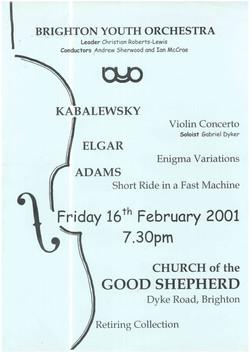 BYO Church of the Good Sheperd, 16th February 2001.jpg