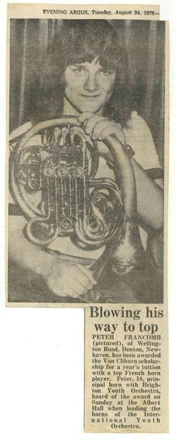 00025-Evening Argus- Peter Francomb, 24th August 1976.jpg