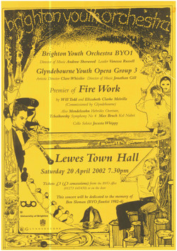 BYO Lewes Town Hall, Saturday 20th April 2002.jpg