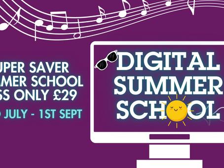 Digital Summer School of Music Now Live