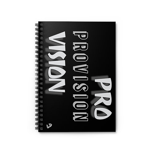 Provision Spiral Notebook - Ruled Line