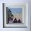 Thumbnail: Small Framed Original Acrylic painting - Rainbow sunset