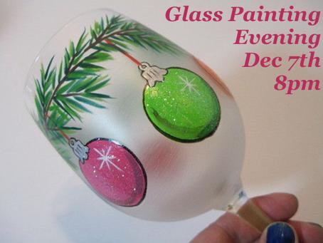 Christmas Glass Painting