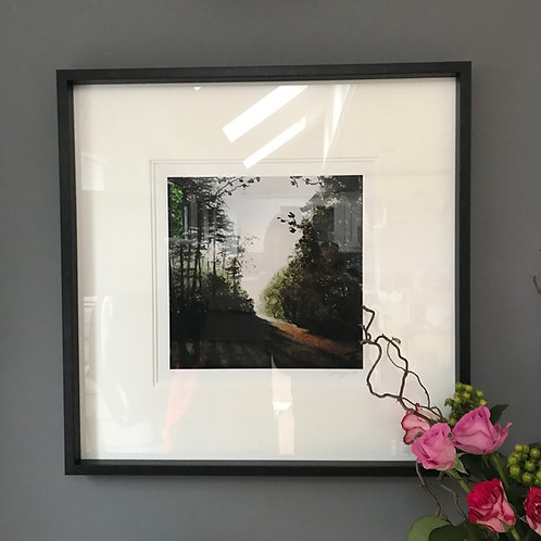 Framed Limited Edition Print - 'Up Top'