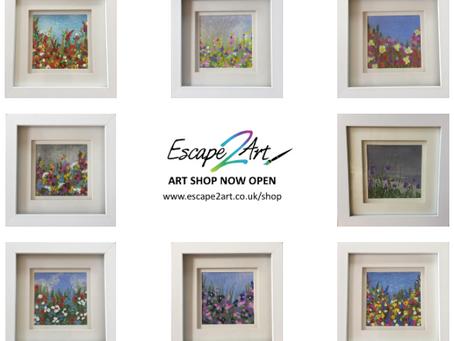 New: Escape2Art online shop