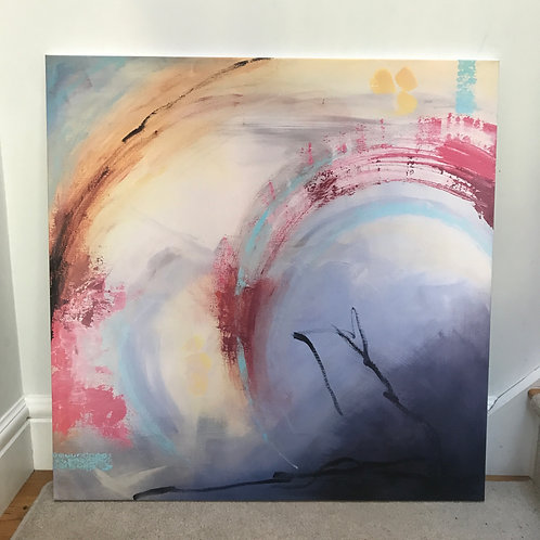 Limited Edition Print on Canvas - 'Daydreaming'