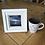 Thumbnail: Mini Framed Original Acrylic painting - Dusk at Frensham Pond