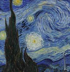 starry nights Van Gogh