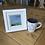 Thumbnail: Mini Framed Original Acrylic painting - Green Fields