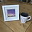 Thumbnail: Mini Framed Original Acrylic painting - Purple Horizon