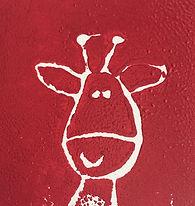 Escape2Art scratch foam printed giraffe