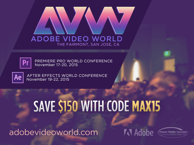 Christine Steele-Adobe Video World November 17-22, 2015