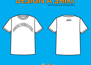Download SocialWorks x prgrssn T-Shirt Template
