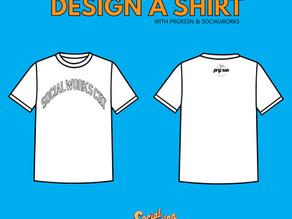 Download SocialWorks x prgrssn T-Shirt Template